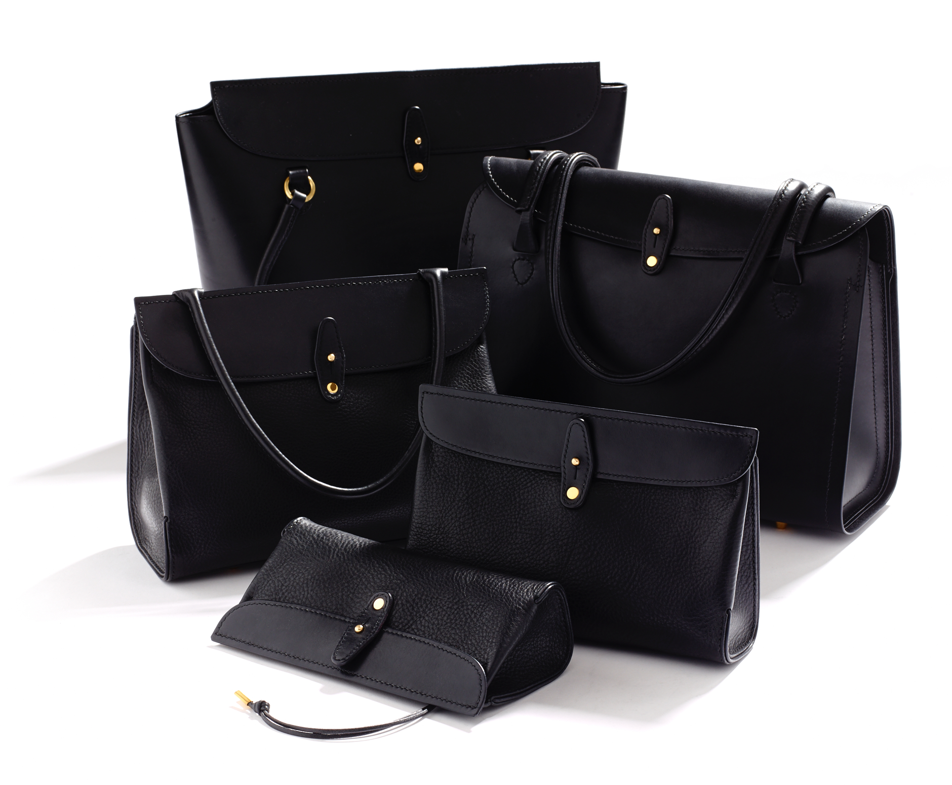 The Core Collection - Five refined handbag designs, hand-crafted to order.View the collection