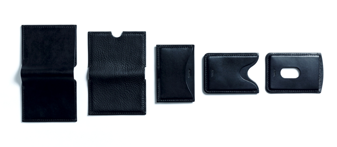 The Carta Collection - Five minimal wallets, hand-stitched in Italian leather.View the collection