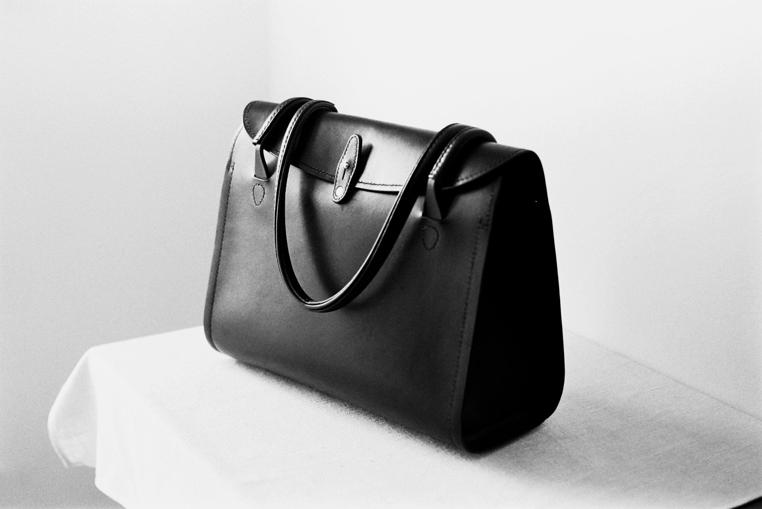 Tallowin Flatiron Handbag - completed