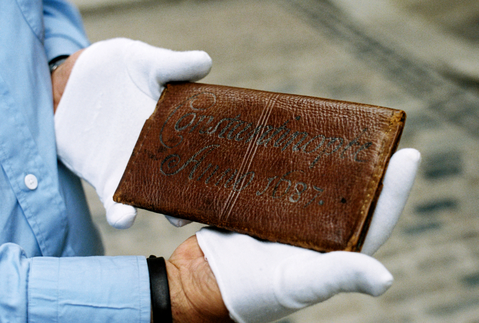 Samuel Pepys' Wallet - back