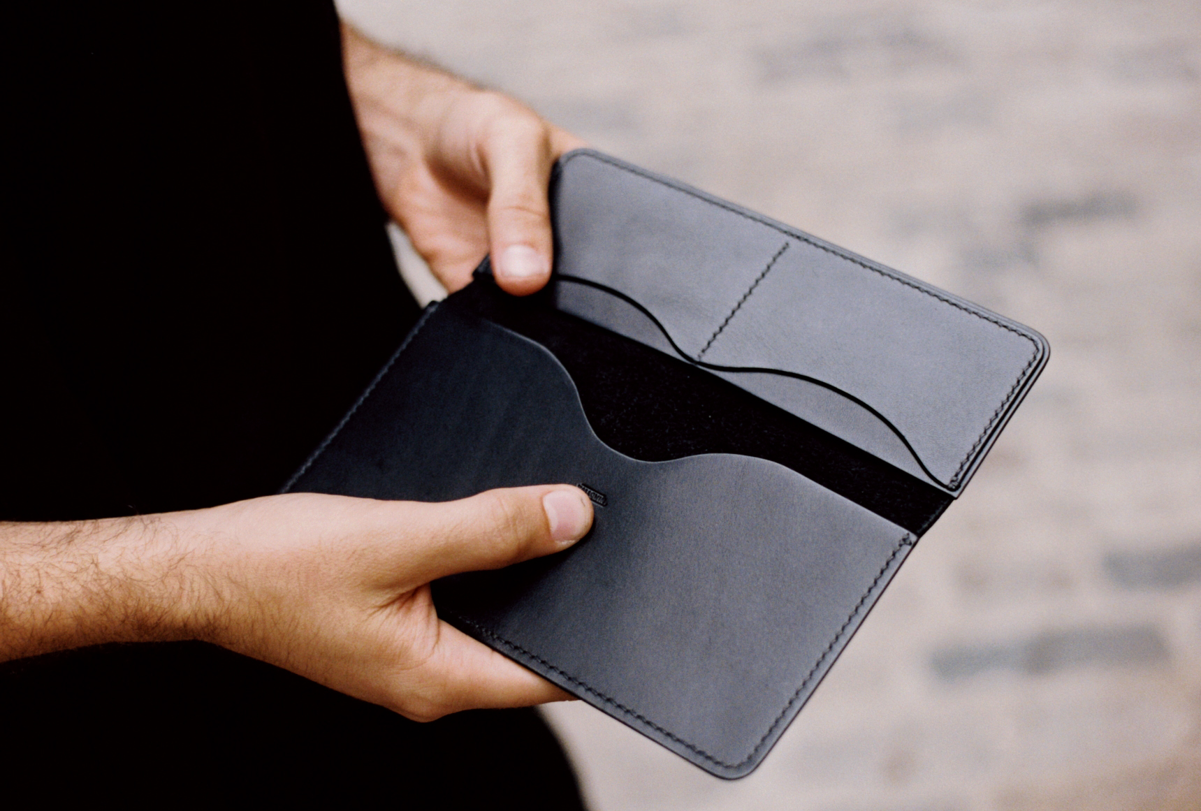 Tallowin Pepys' Wallet - inside