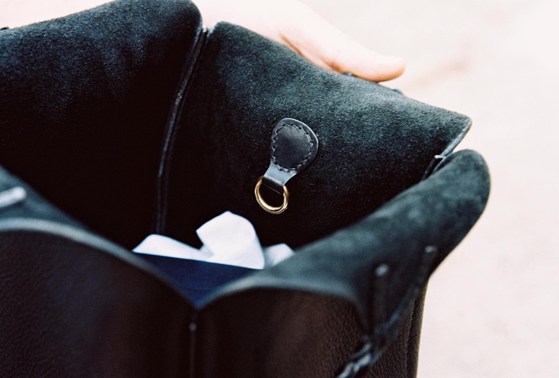 Copy of tallowin handbag interior lining