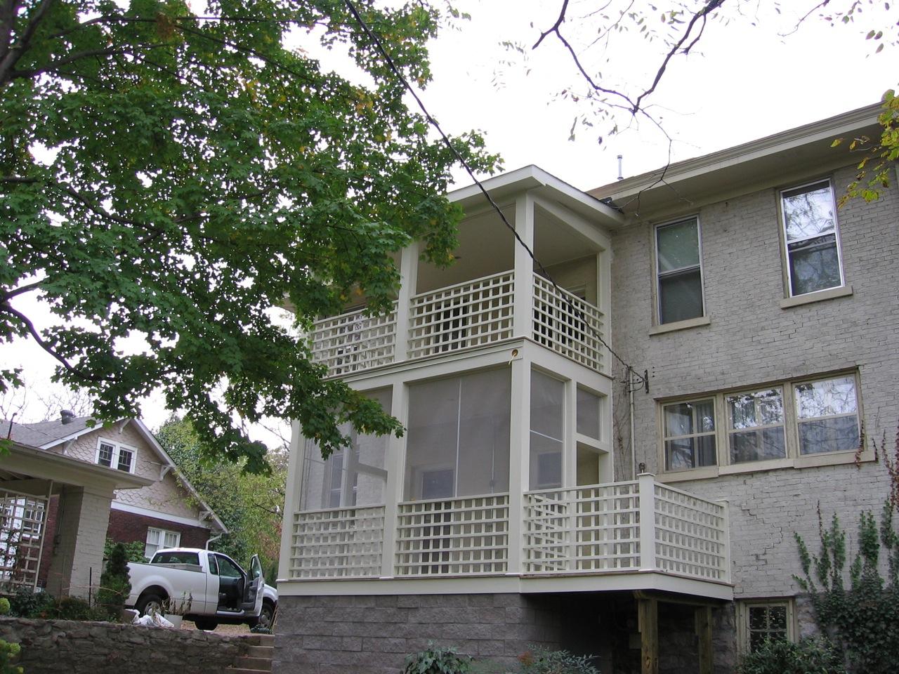 Multi-Level Porch
