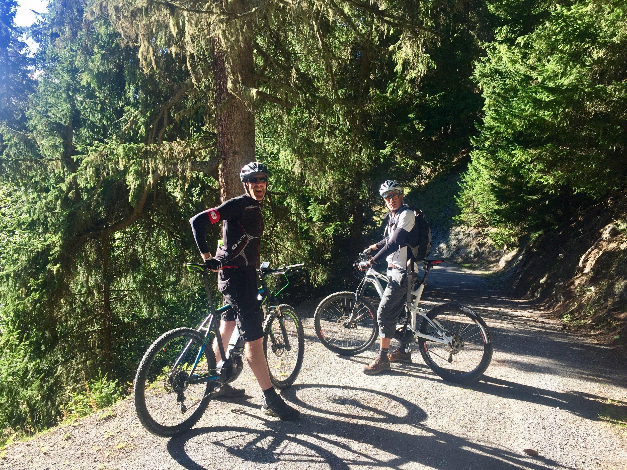 Quiet, alpine routes through the trees