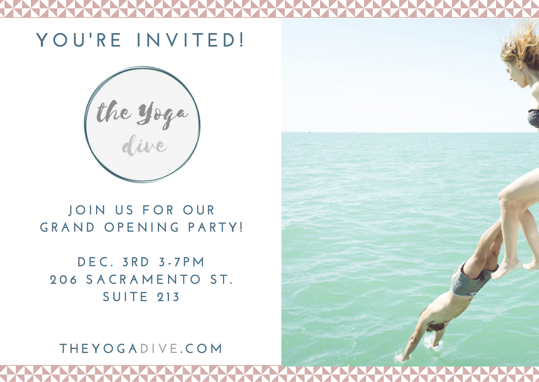 The Yoga Dice - Grand Opening