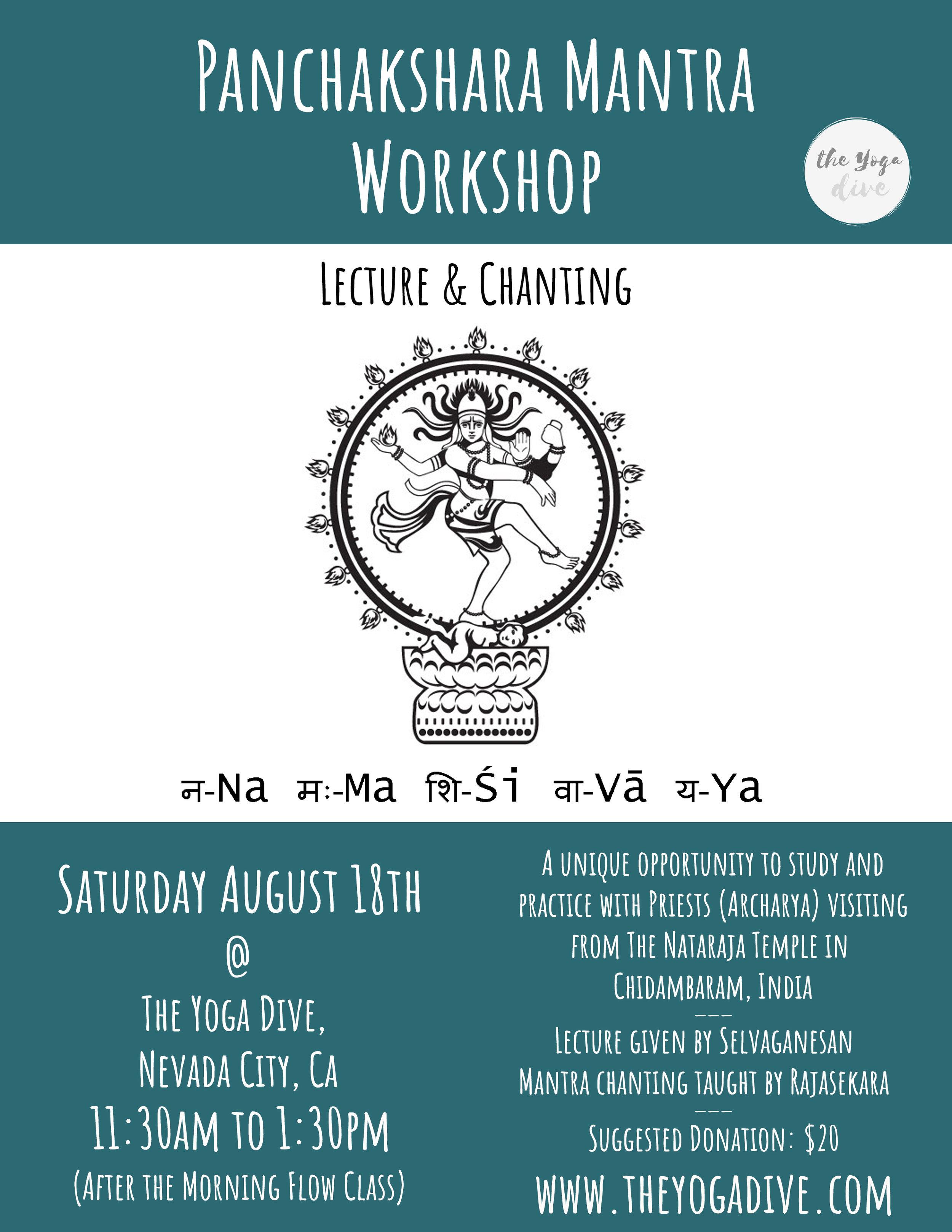 Mantra workshop