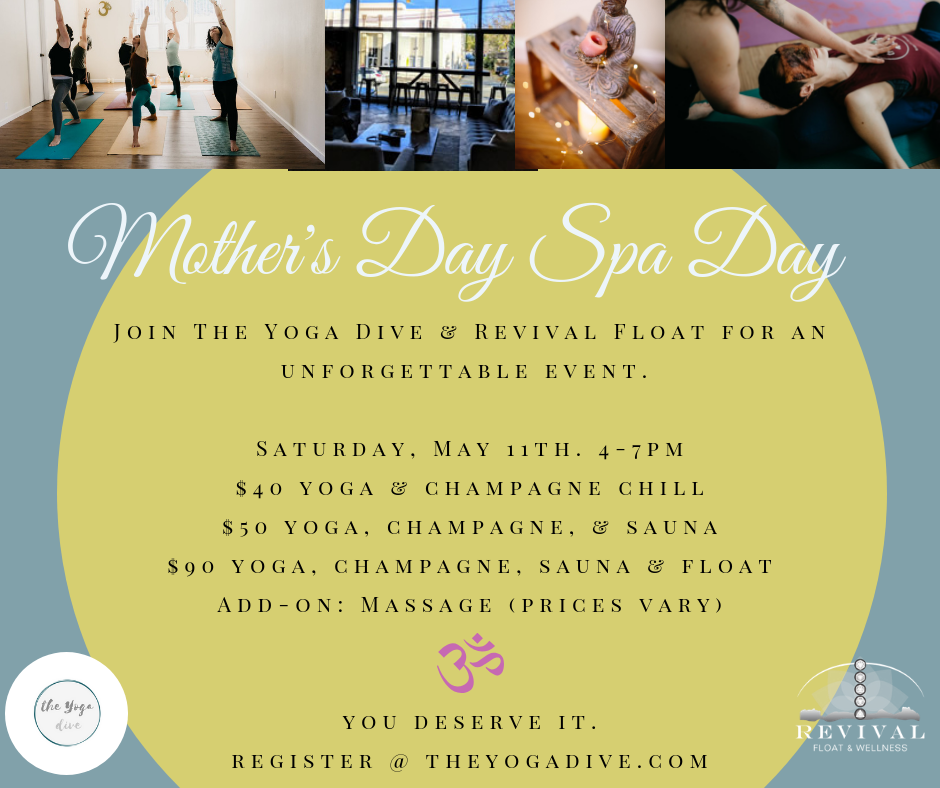 Mother's Day Yoga Spa Event
