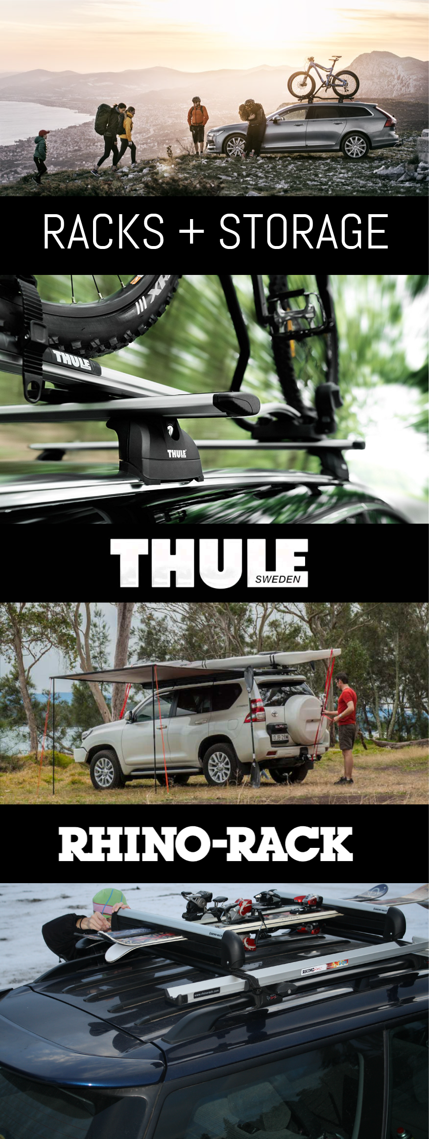 Specialized Truck & SUV Thule Rhino Rack