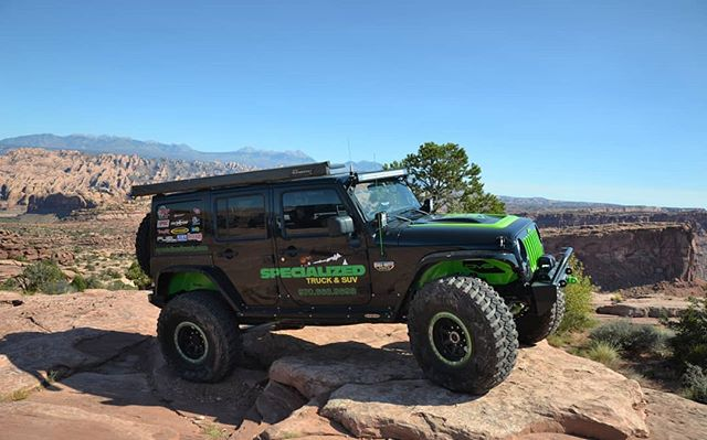 Who else is going to Jeep Safari this year? We will be there with the Specialized JK, come say hi!