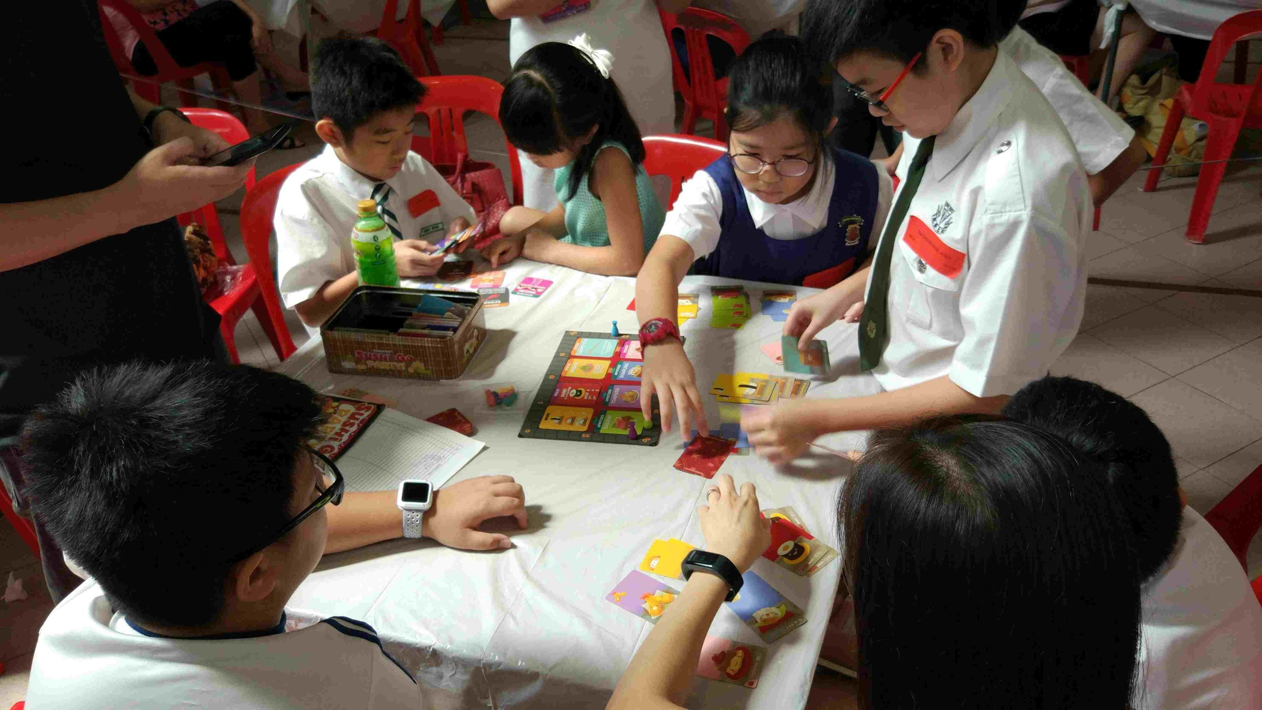 Sushi Go Party Board Game for Pri 3 to Pri 4