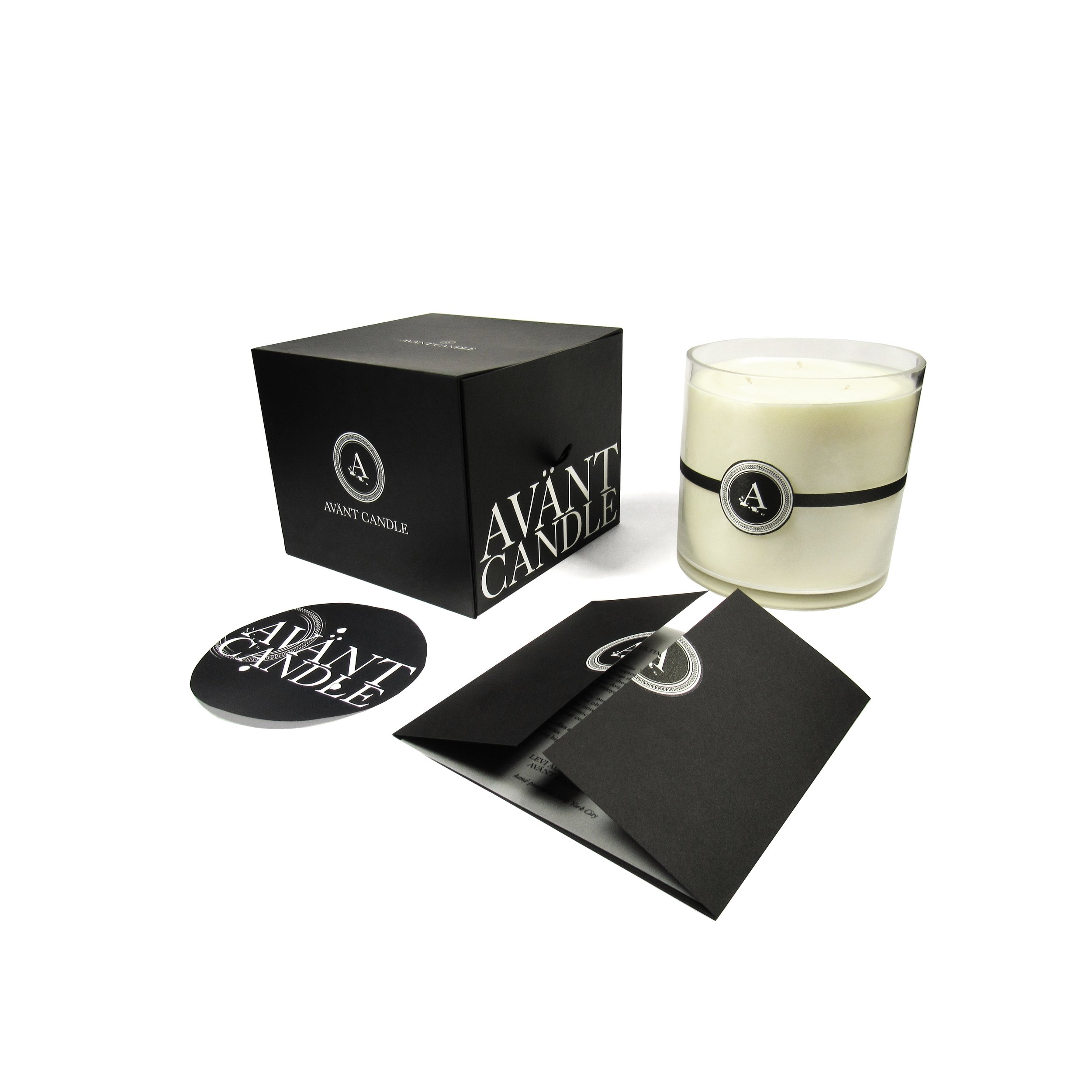 Includes:   70-ounce Candle, Card, Dust Cover & Packaging