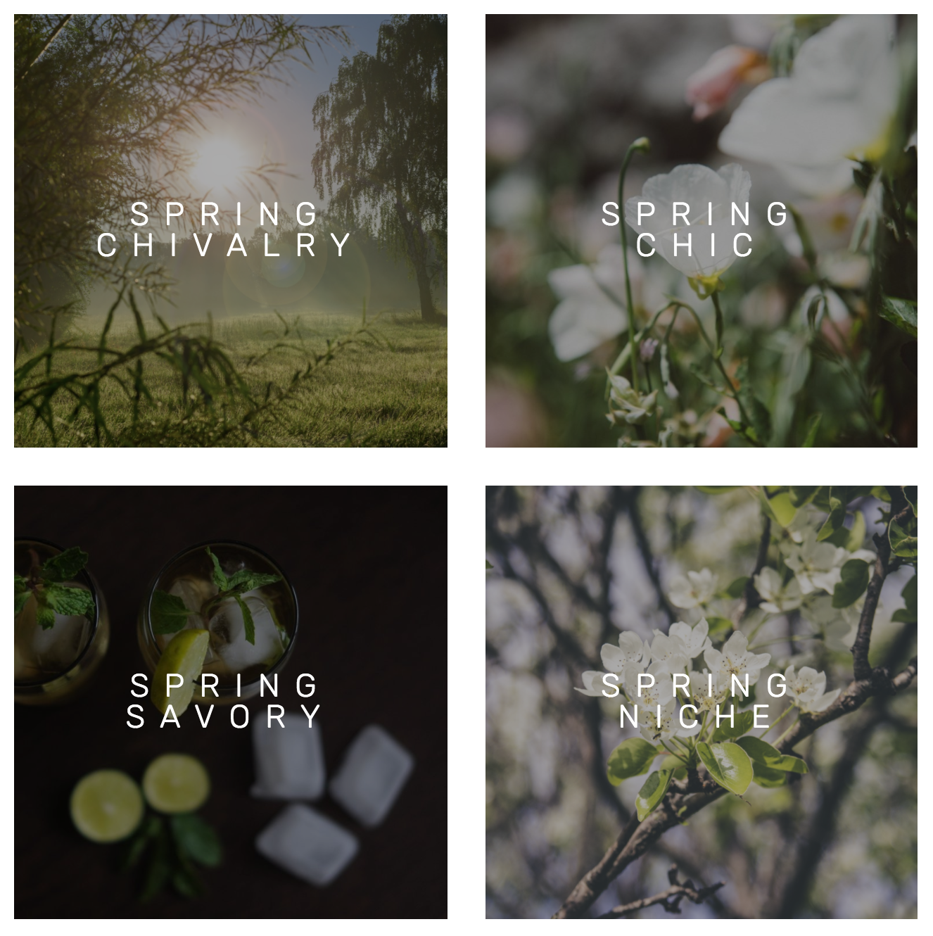 Spring Collection Avant Candle