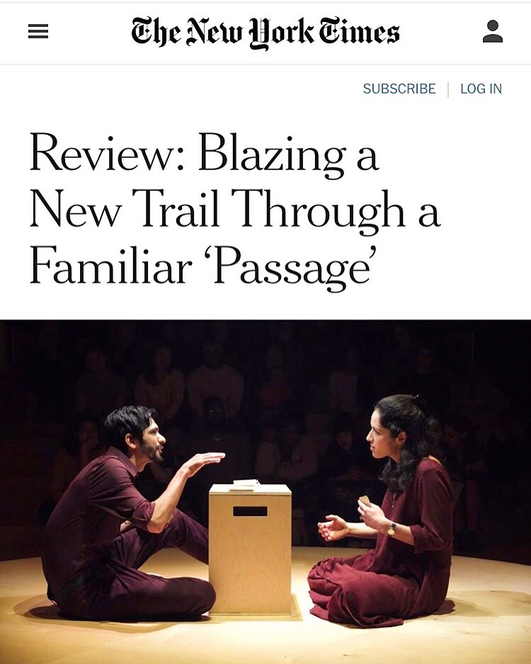 - New York Times Theater Review by Ben Brantley. May 6, 2019.