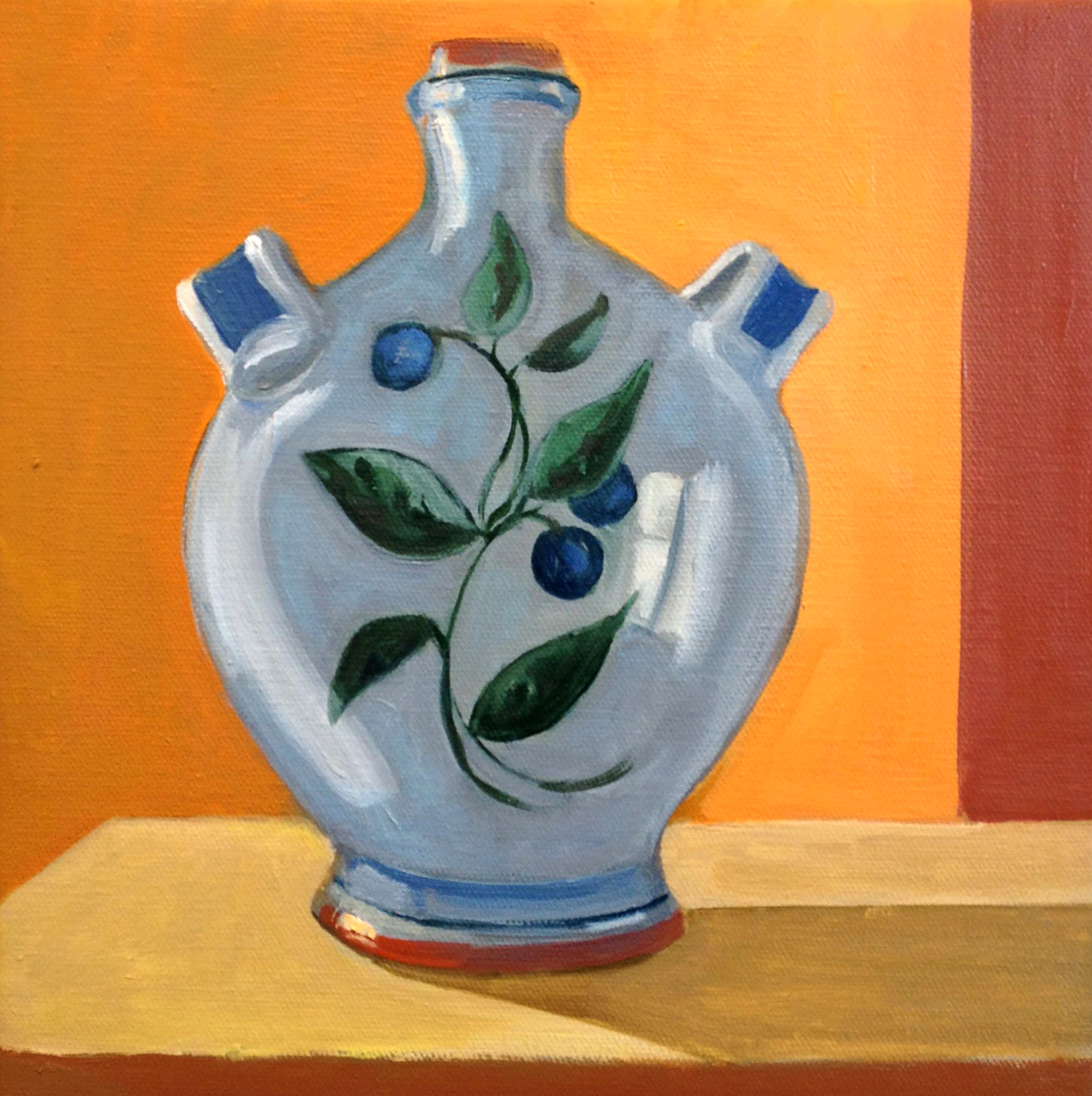Olio , oil on canvas, 10 x 10 in.