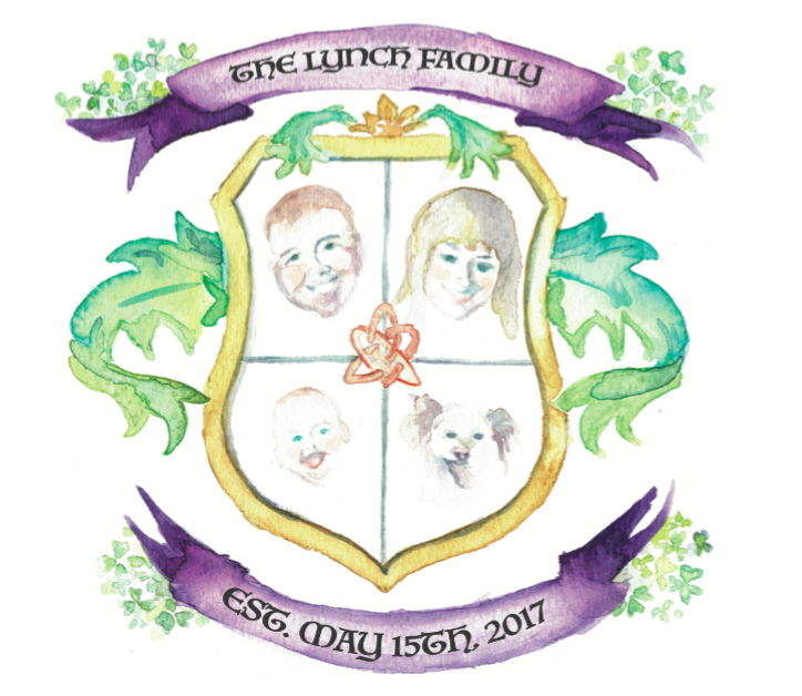 'Coat of Arms' Save the Date