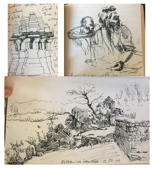 Sketches from my travels in search of self and meaning