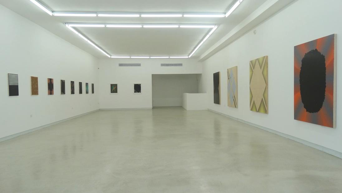 Solo show at Walter Otero Contemporary Art, San Juan, Puerto Rico. 2014. Photo: Ninah Aymat