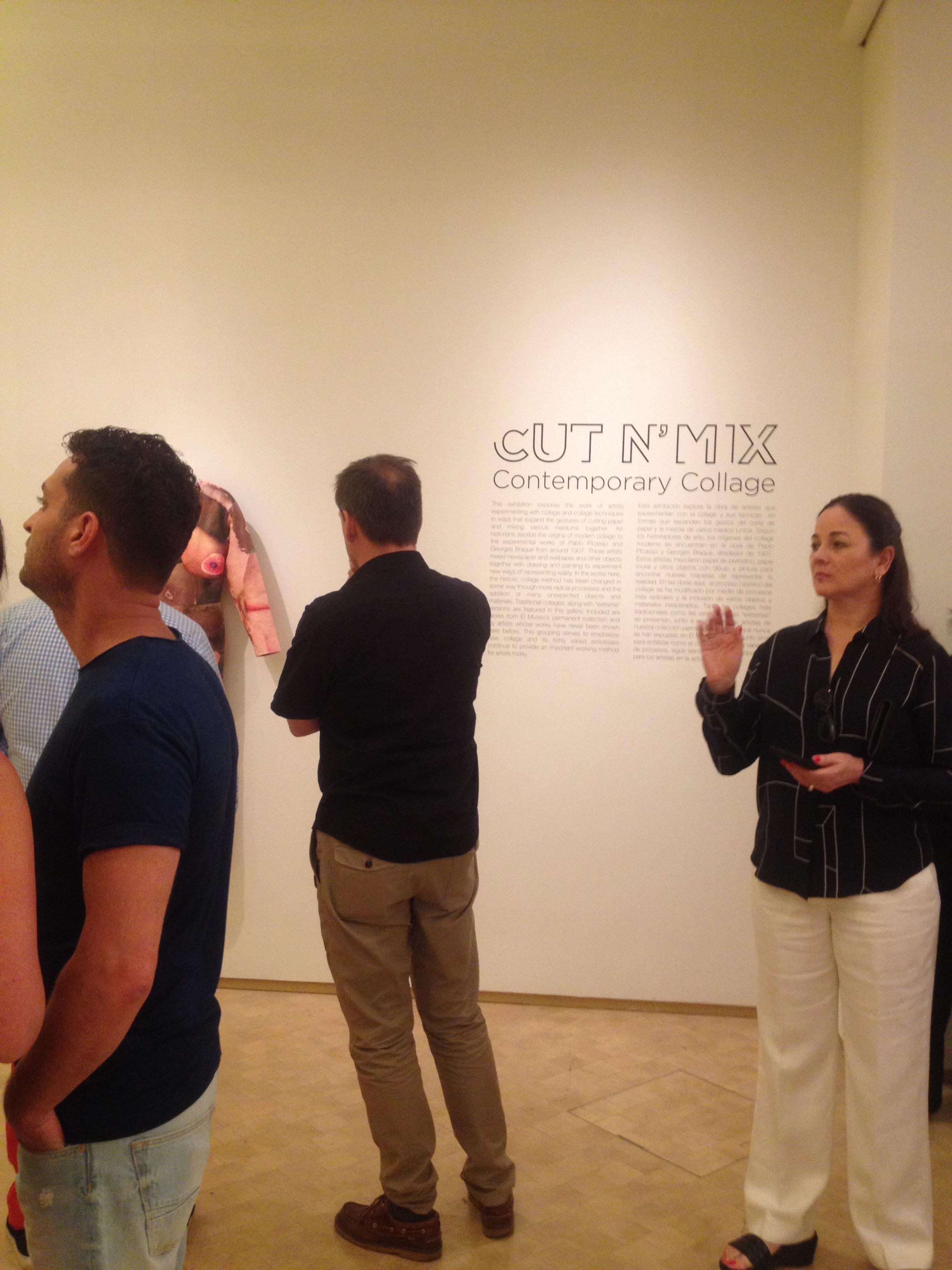 CUT N' MIX , El Museo del Barrio, New York, NY. 2015. Photo: Livia Ortiz
