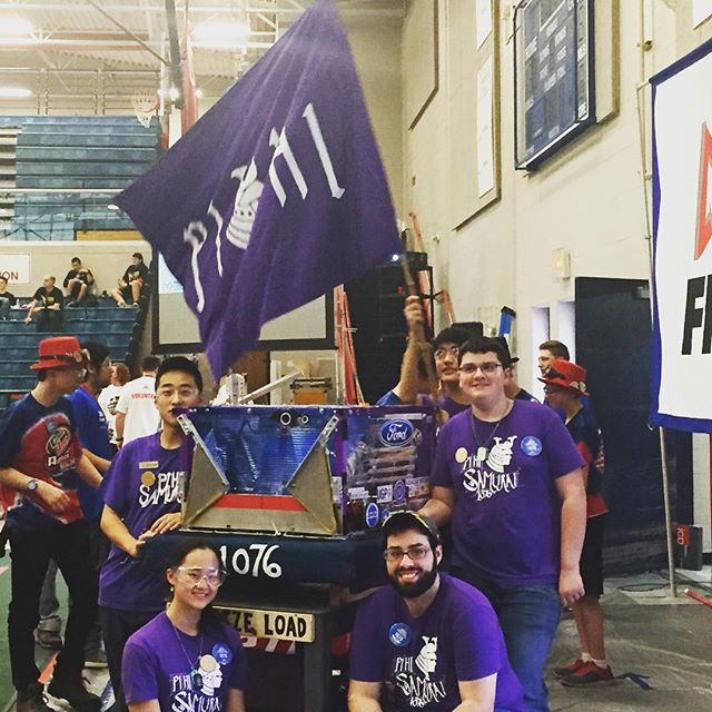 Good job to our Pihi drive team! We wouldn't be able to compete without all of you! #FIRST #competition #frc #robotics