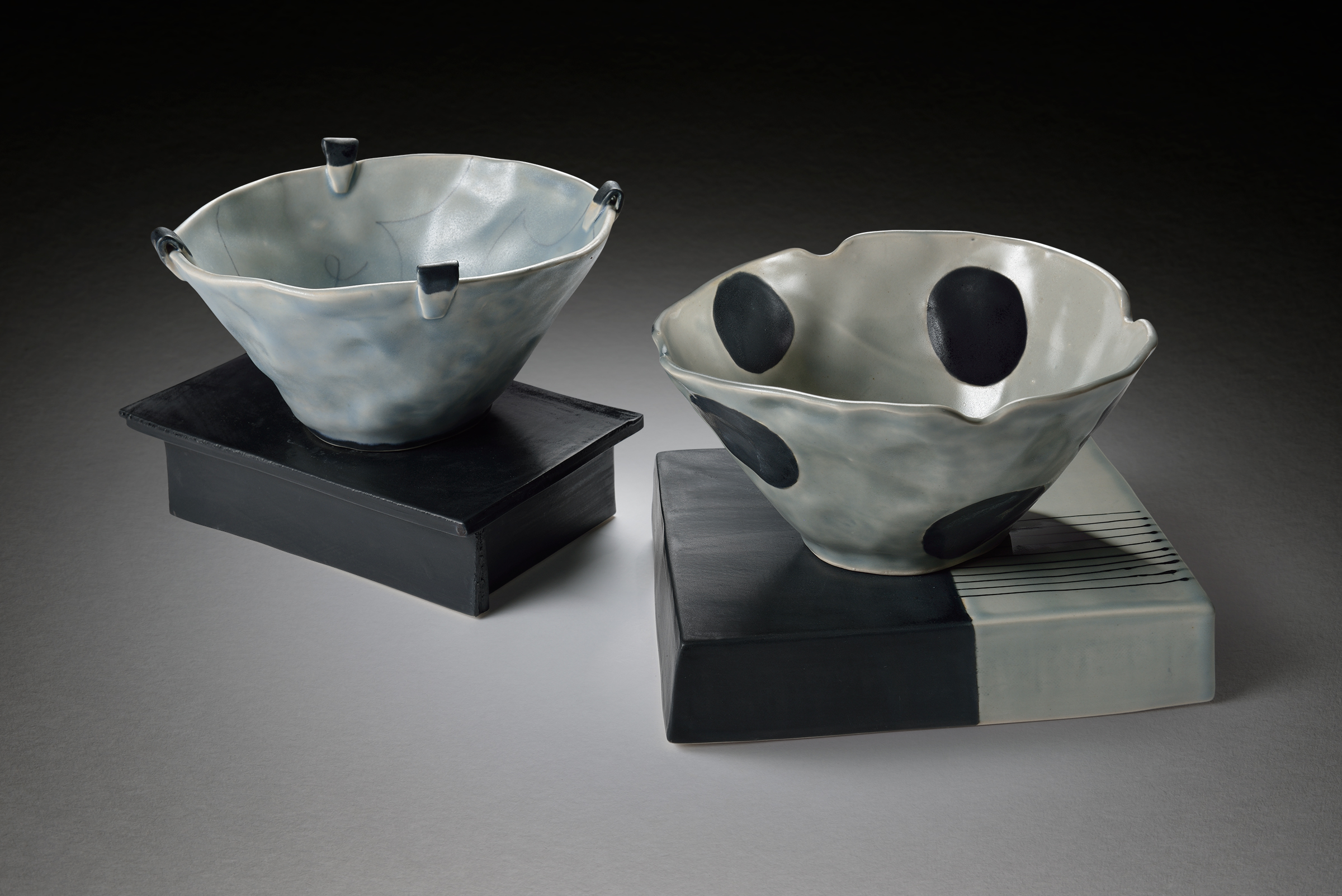 Two Bowls on Bases