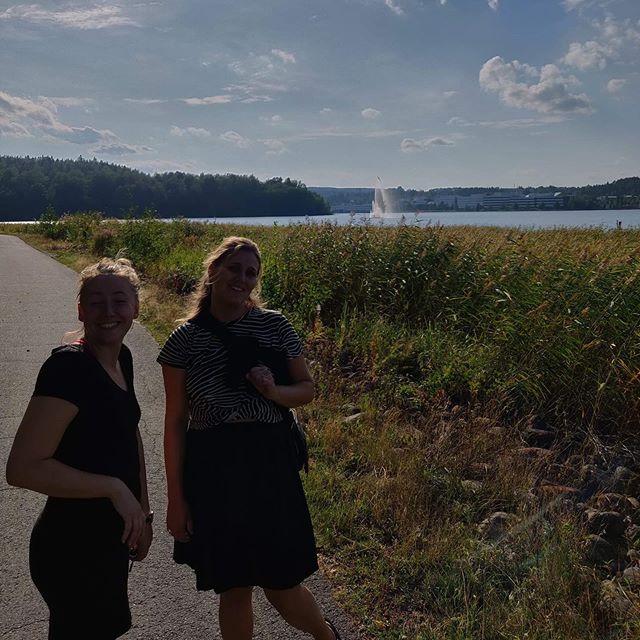 Smuttur til Finland... søer, træer, klipper og sjove rugbrød. Og selvfølgelig ny-finnerne @simonrommedahl og @fiskediller ❤️ De skal nok få det fint i deres nye hjem.