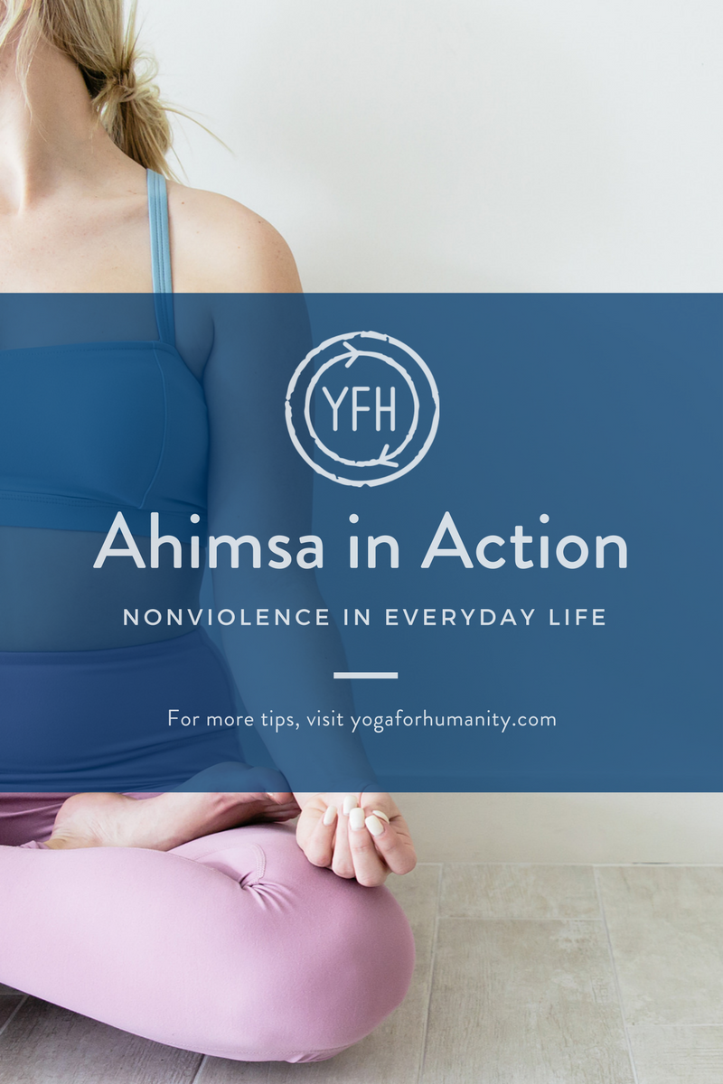 ahimsa in action - yoga for humanity