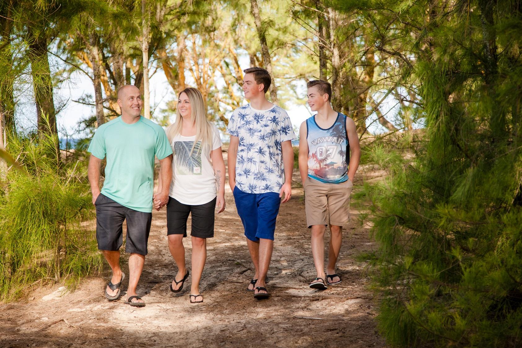 family beach photography oahu