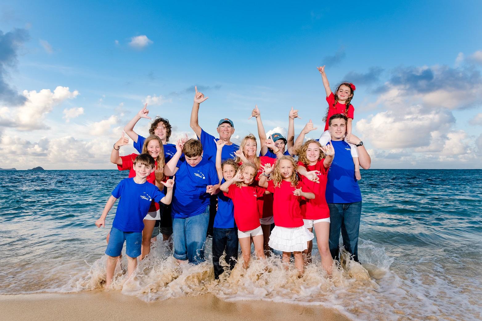 family beach vacation photographer kailua oahu