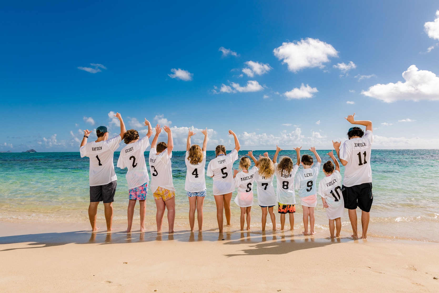 kids beach vacation photographer
