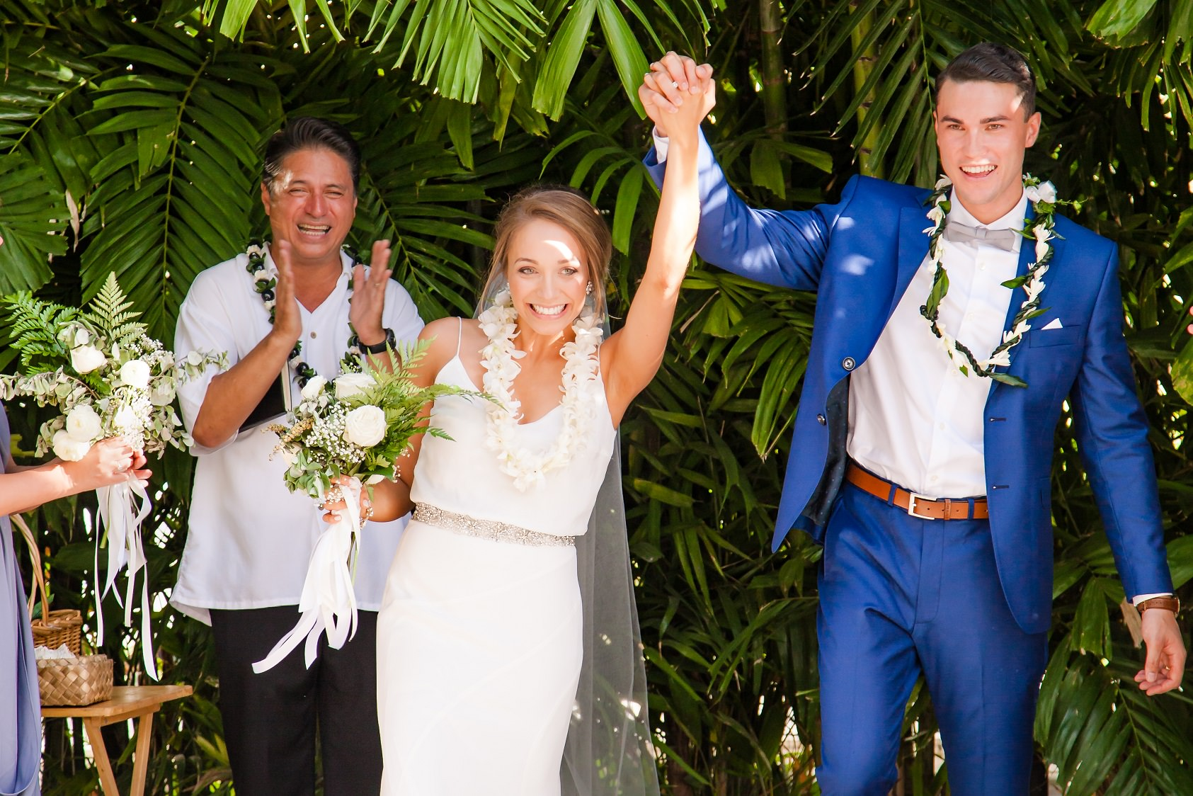 Just Married! Wedding ceremony at The Modern Hotel in Waikiki