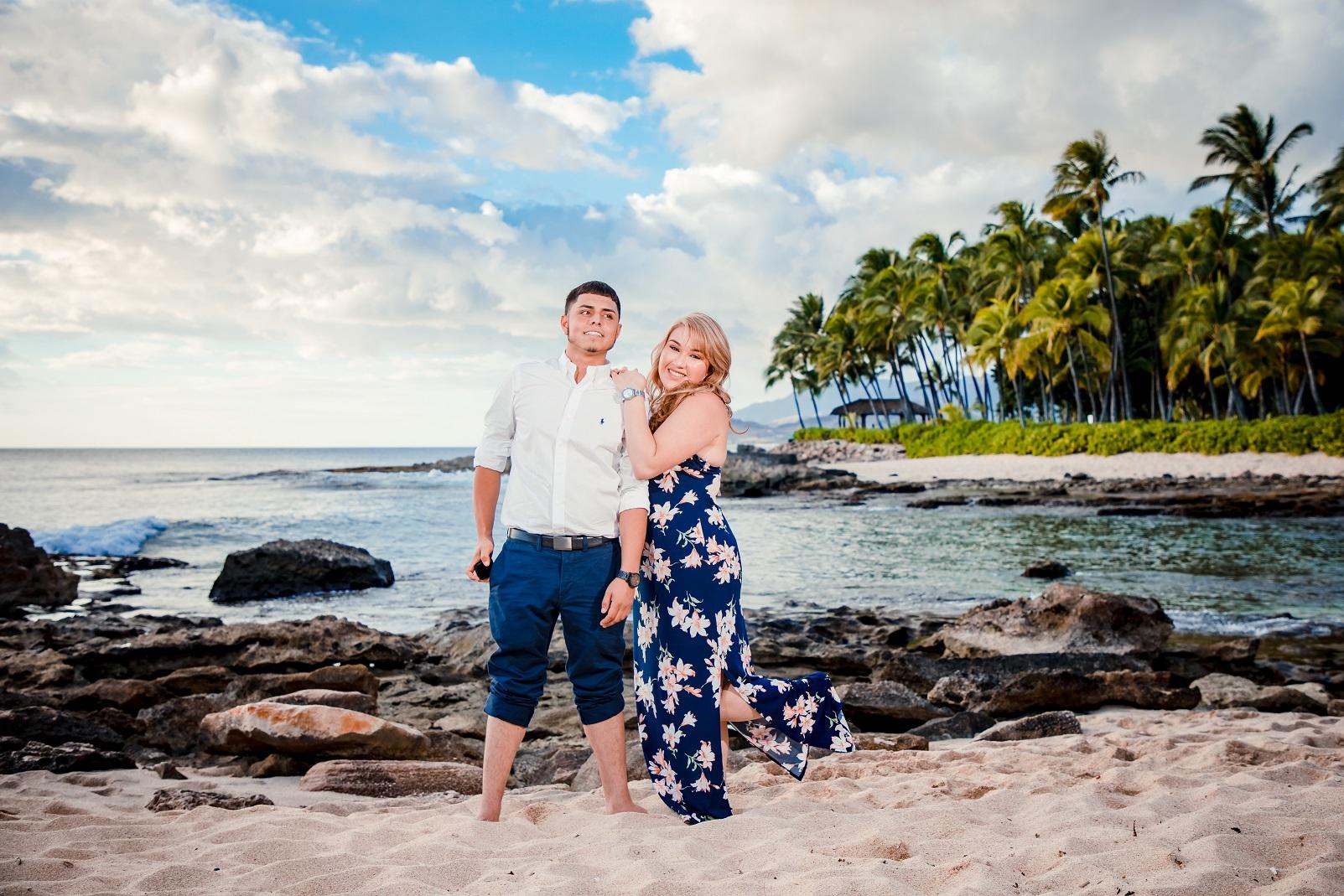 engagment proposal oahu hawaii