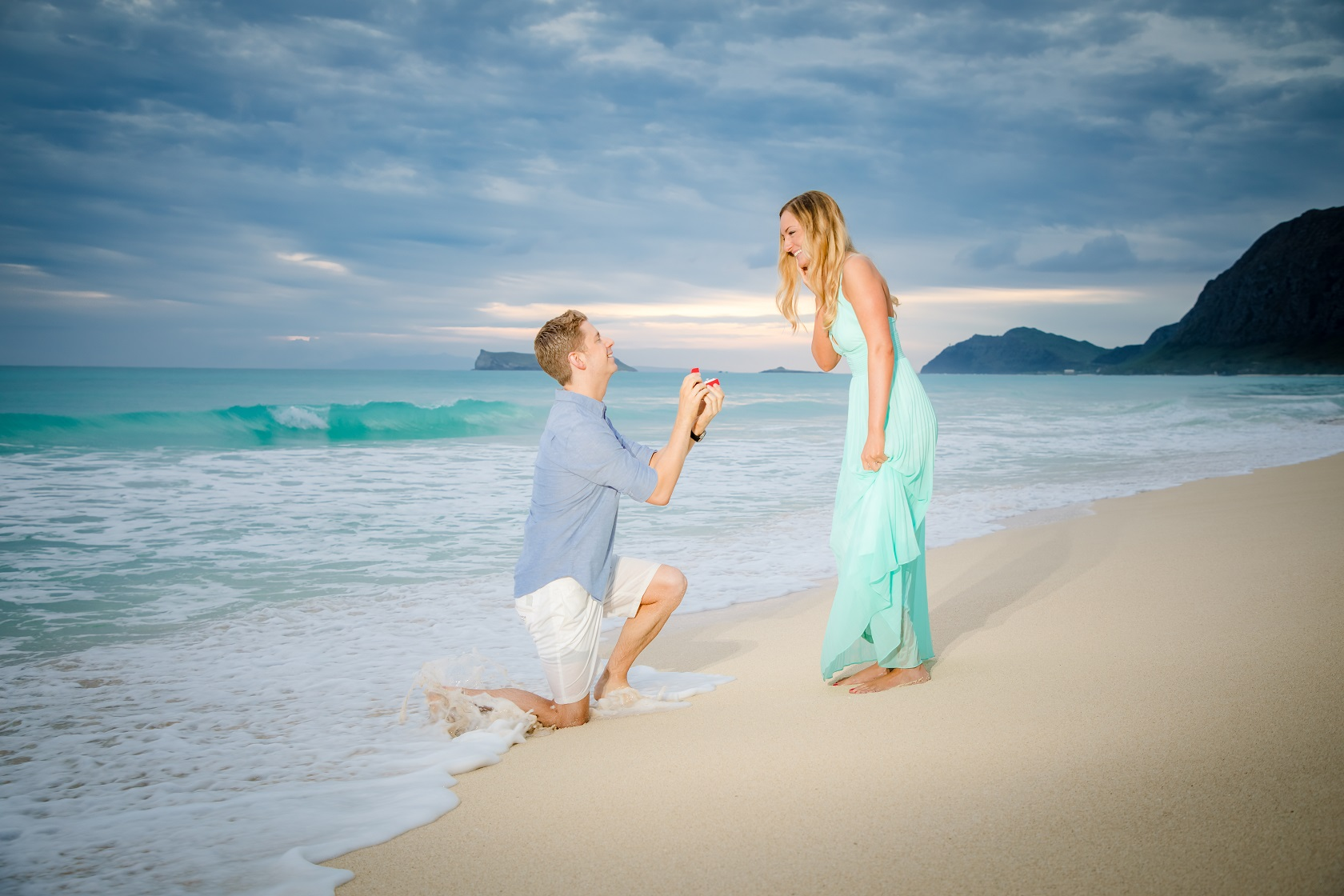 The sunrise didn't happen for Shawn's proposal to Brie....