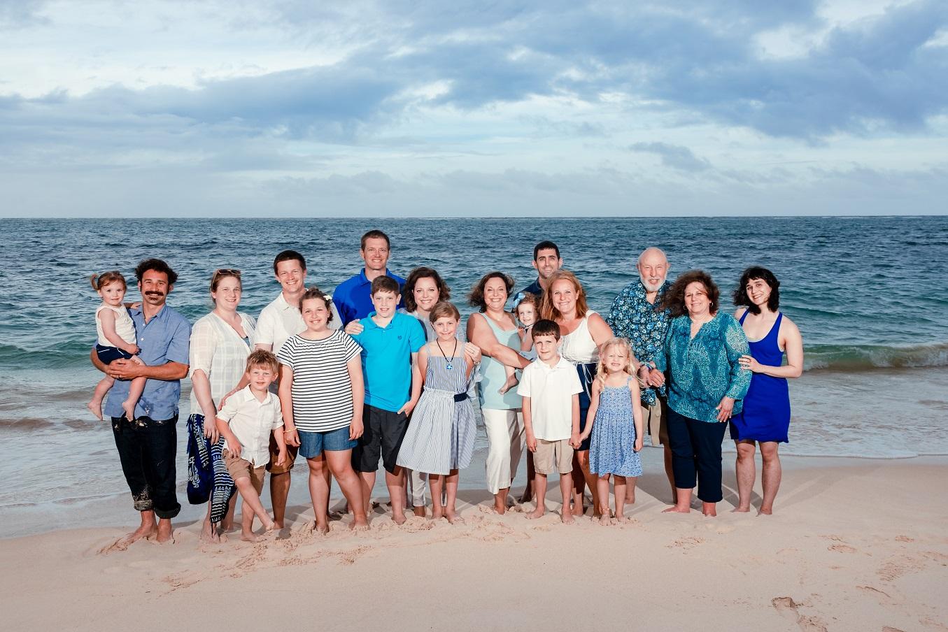 oahu family beach photography portraits
