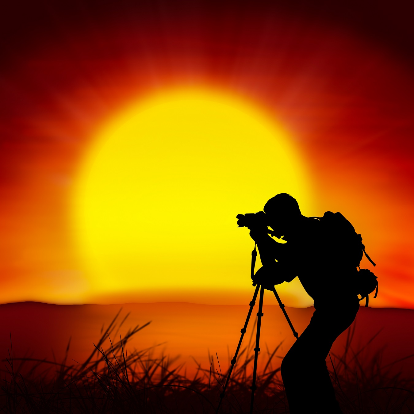 hawaii sunset photographer silhouette