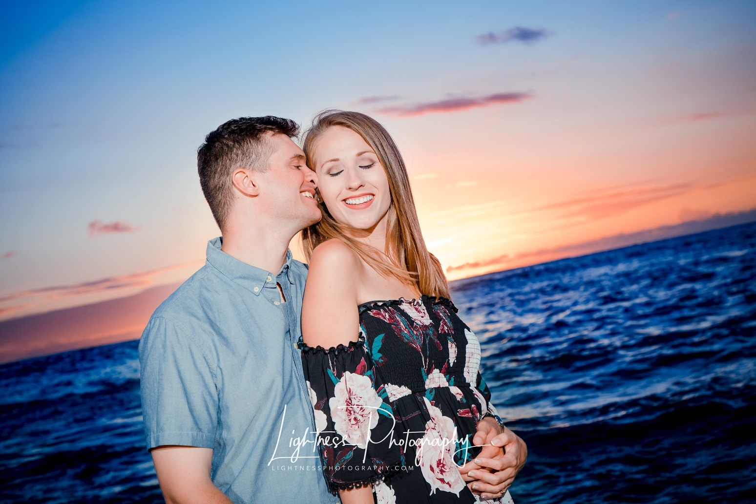 Formal engagement photography session
