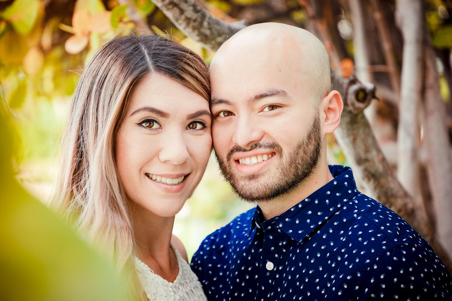 oahu engagement pre wedding photo session