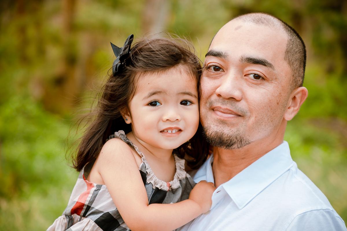 kauai kids children family photographer daughter and dad