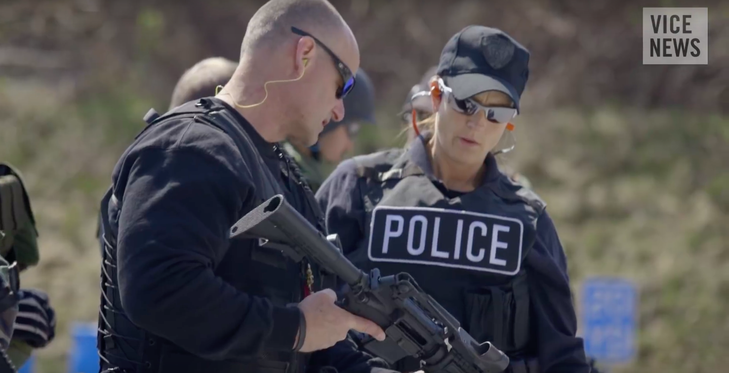 Police Militarization Meets Hacker Culture - VICE NEWSCorrespondent