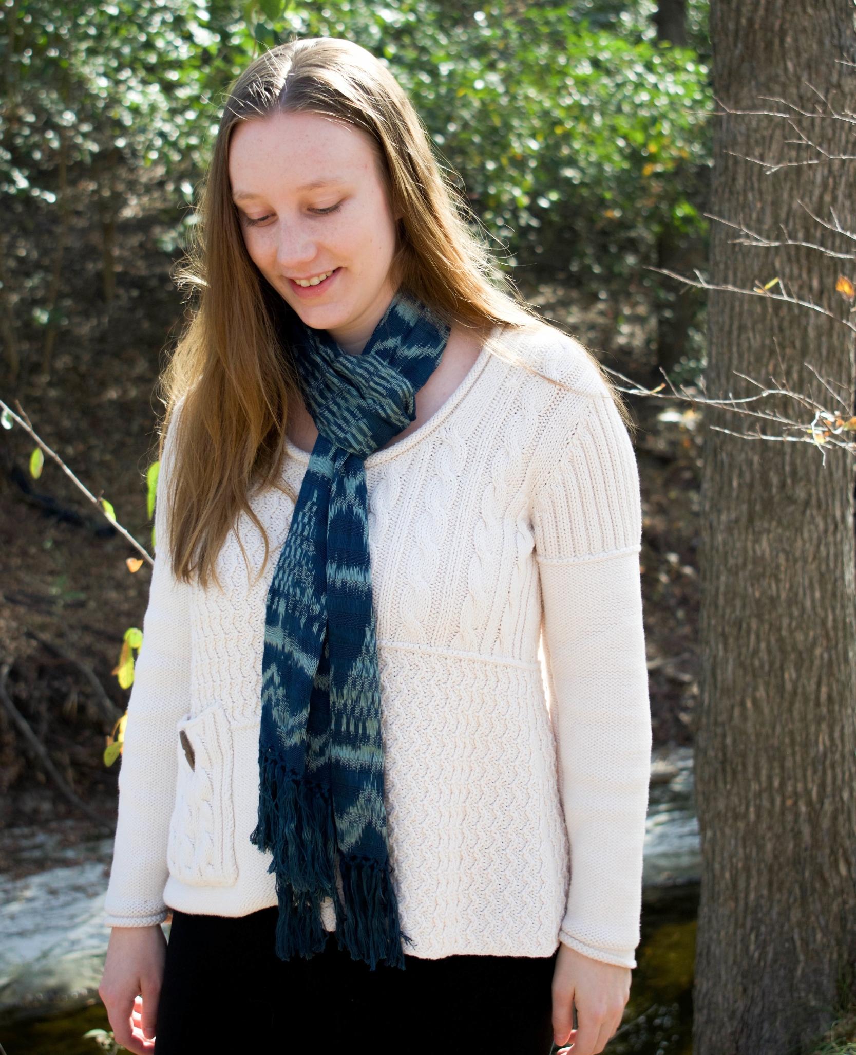 fair trade scarf