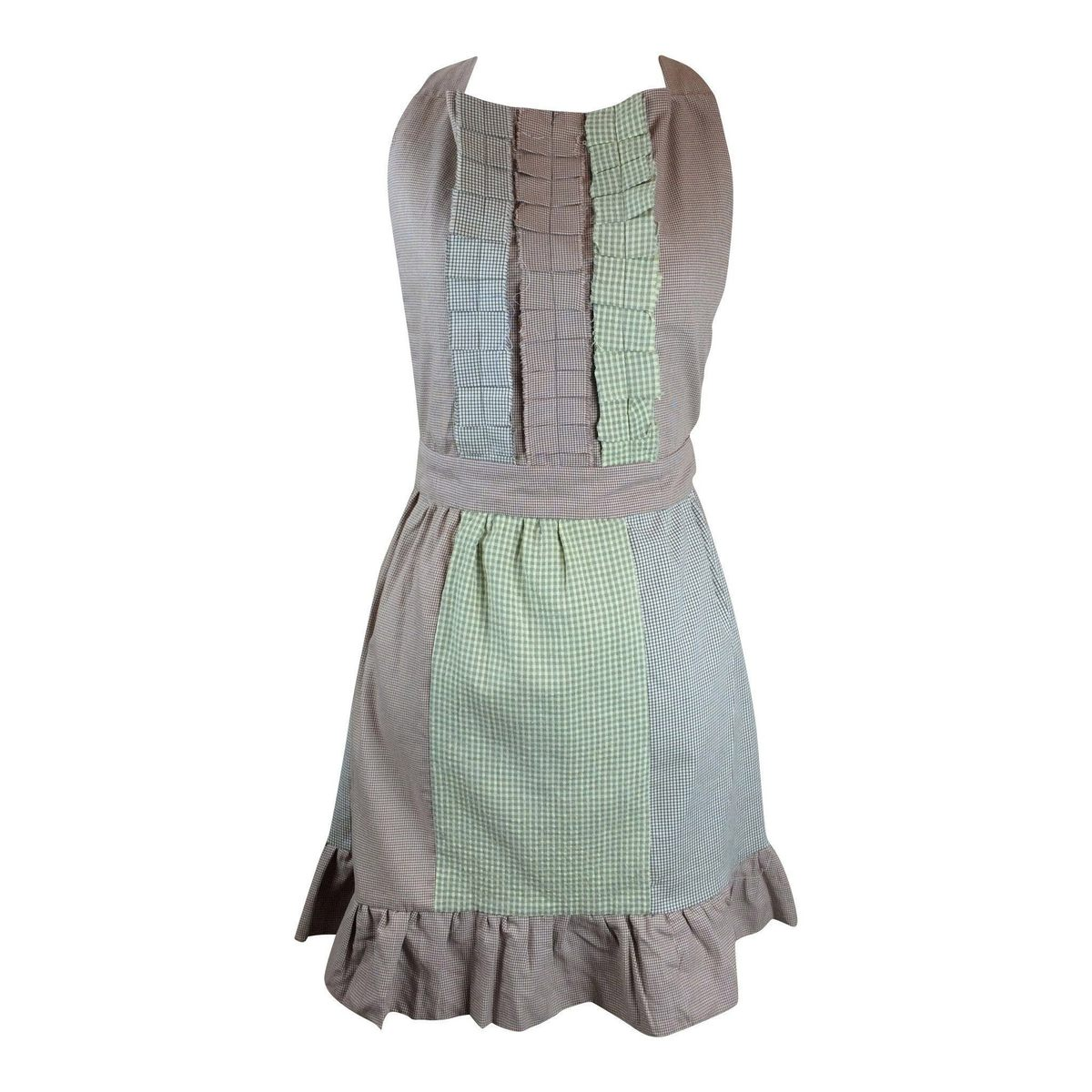 Front Rufle Apron PC: Love Justly