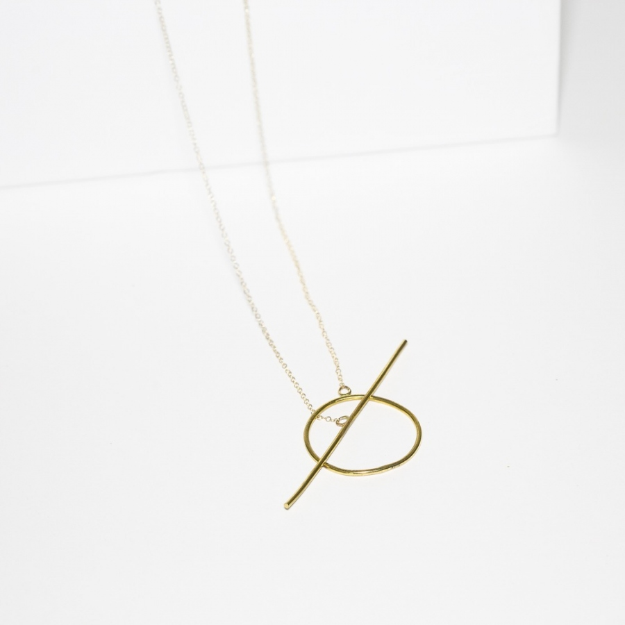 Toggle Drop Necklace by CWL