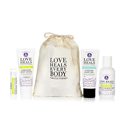 natural beauty gift set