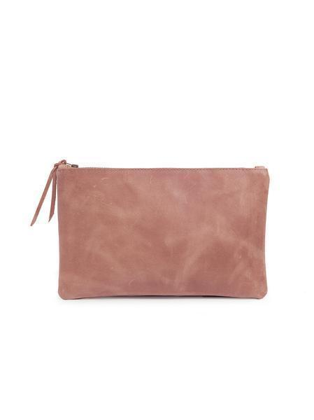 Leather Make Up pouch