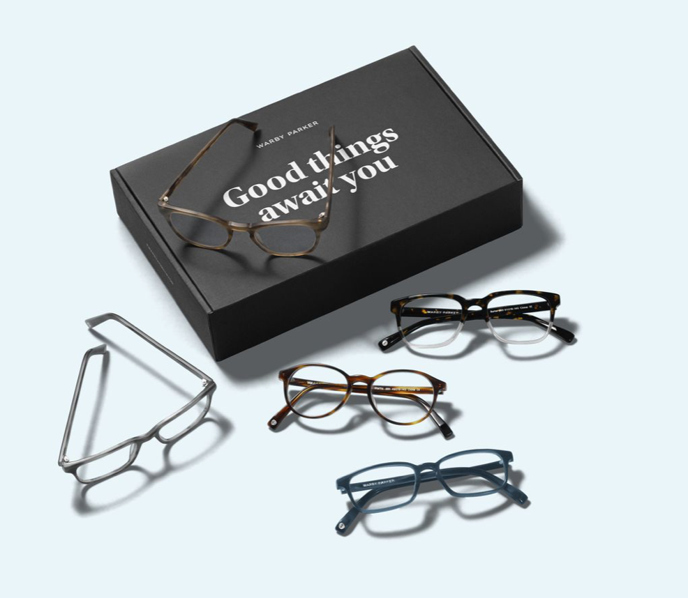 GLASSES that give back