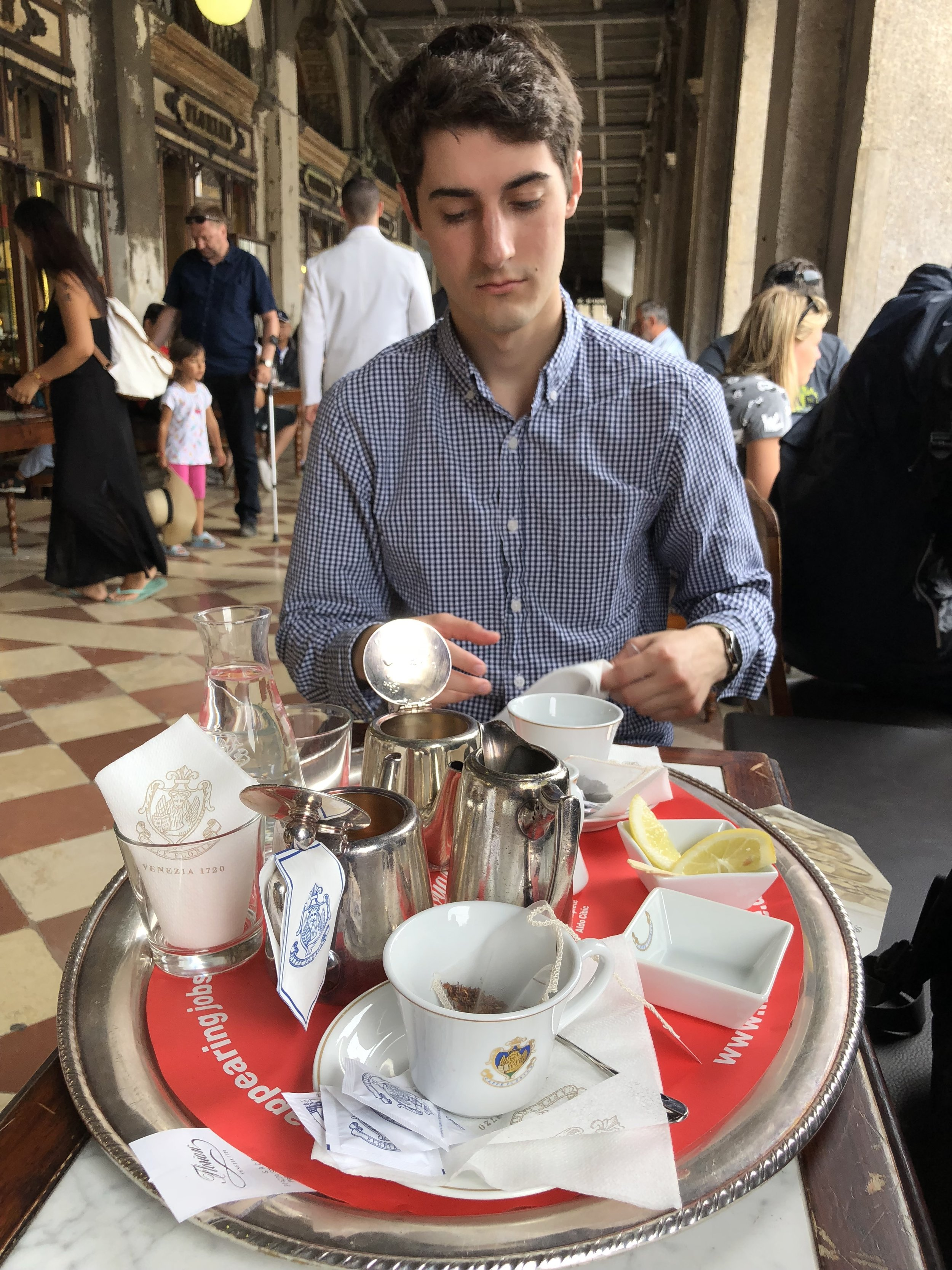 Tea in St. Marks Square