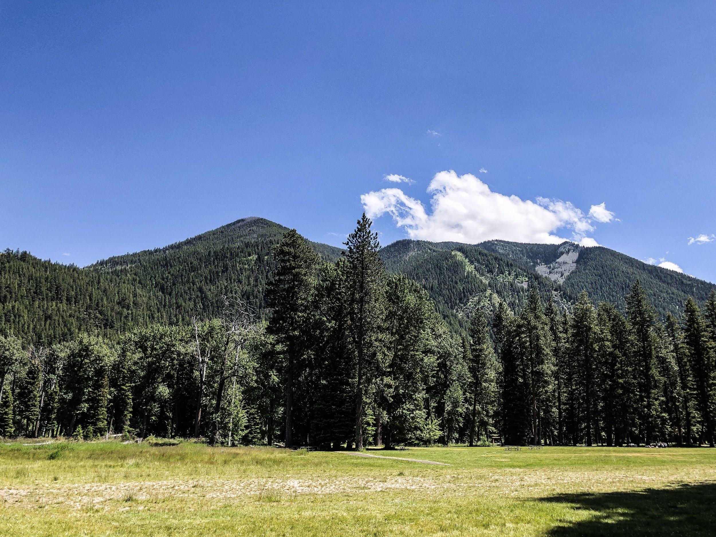 Hike in Joseph Oregon