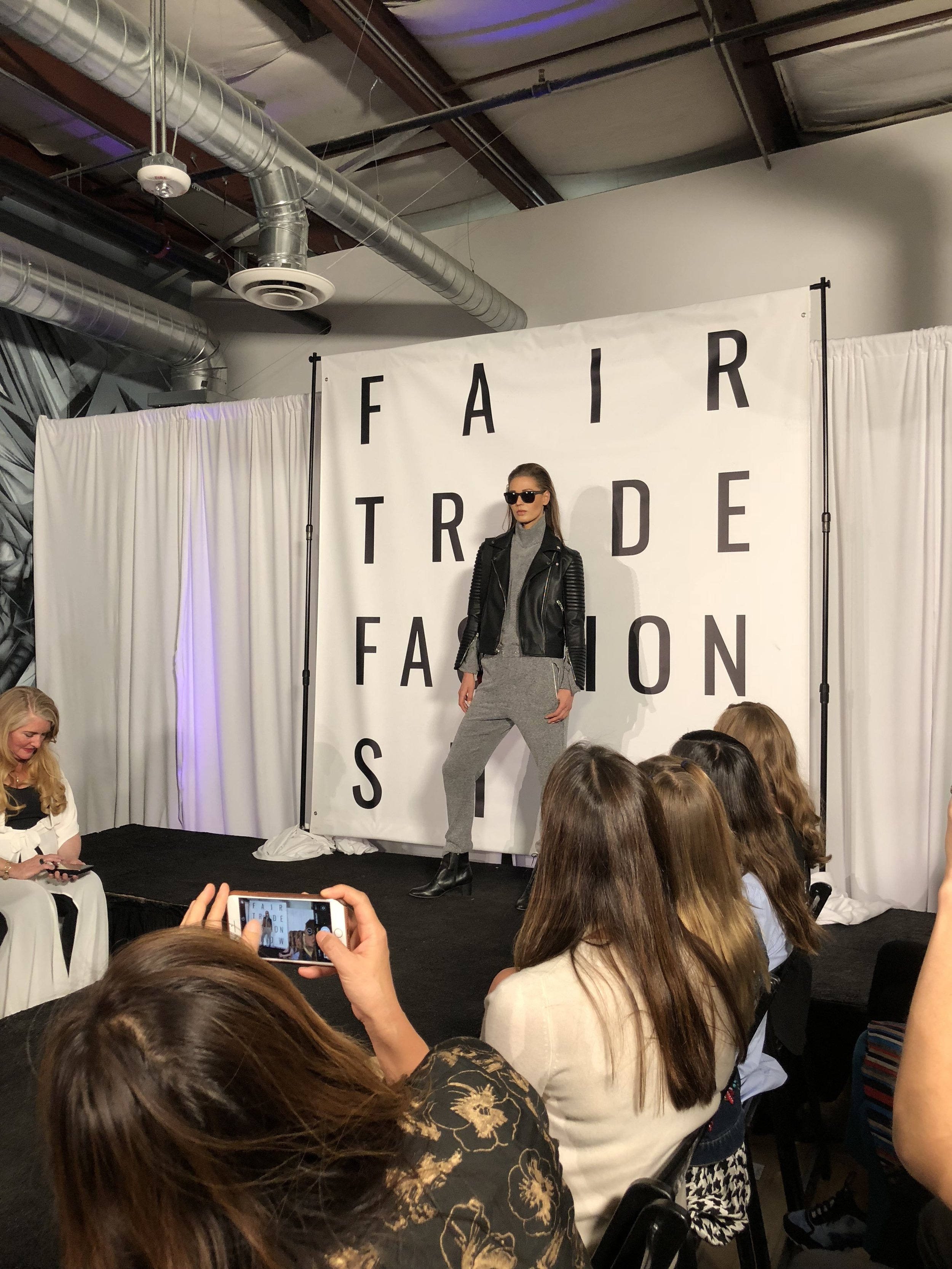 Fair trade fashion show 2018