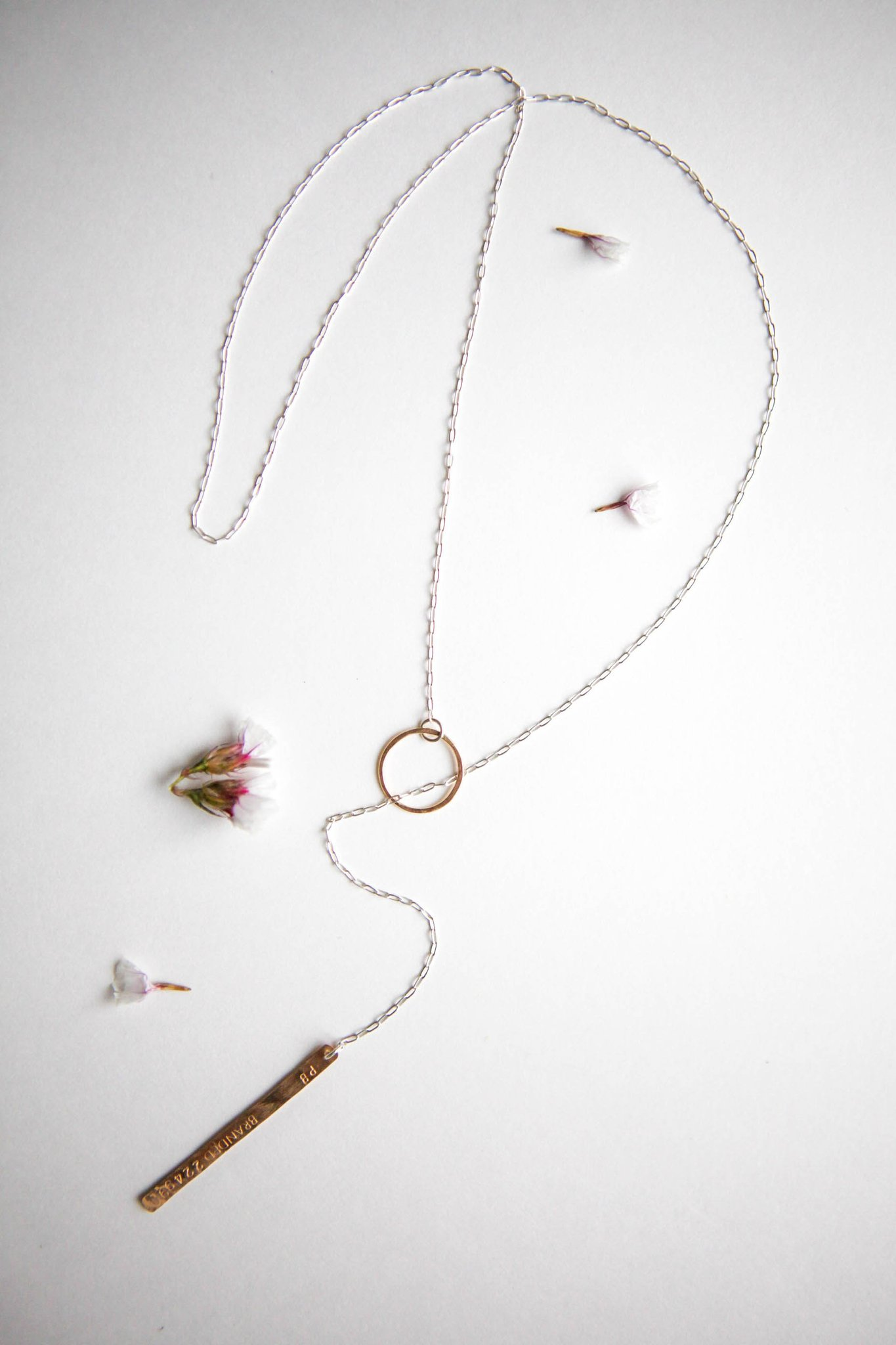 Lariat necklace from  BRANDED Collective