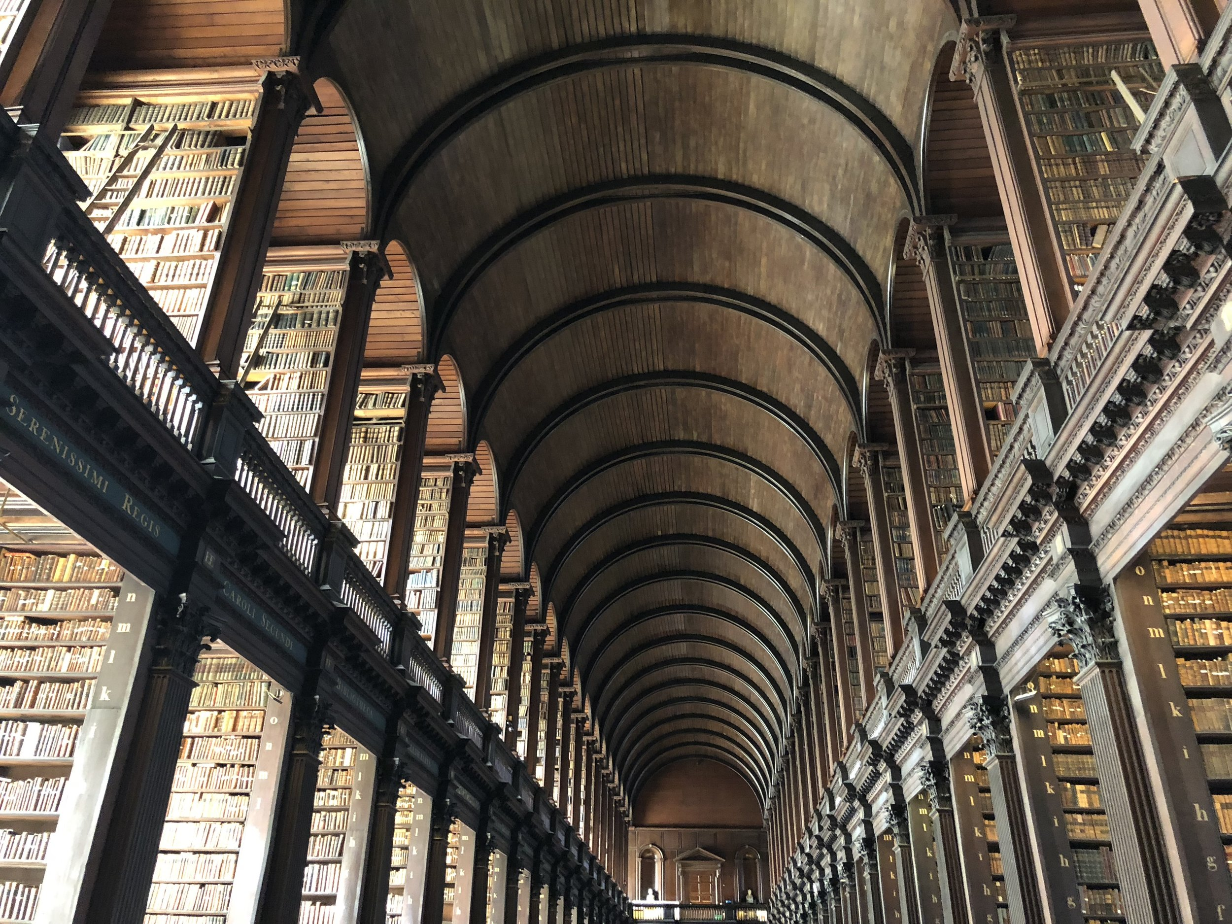 The Old Library at Trinity College Dublin