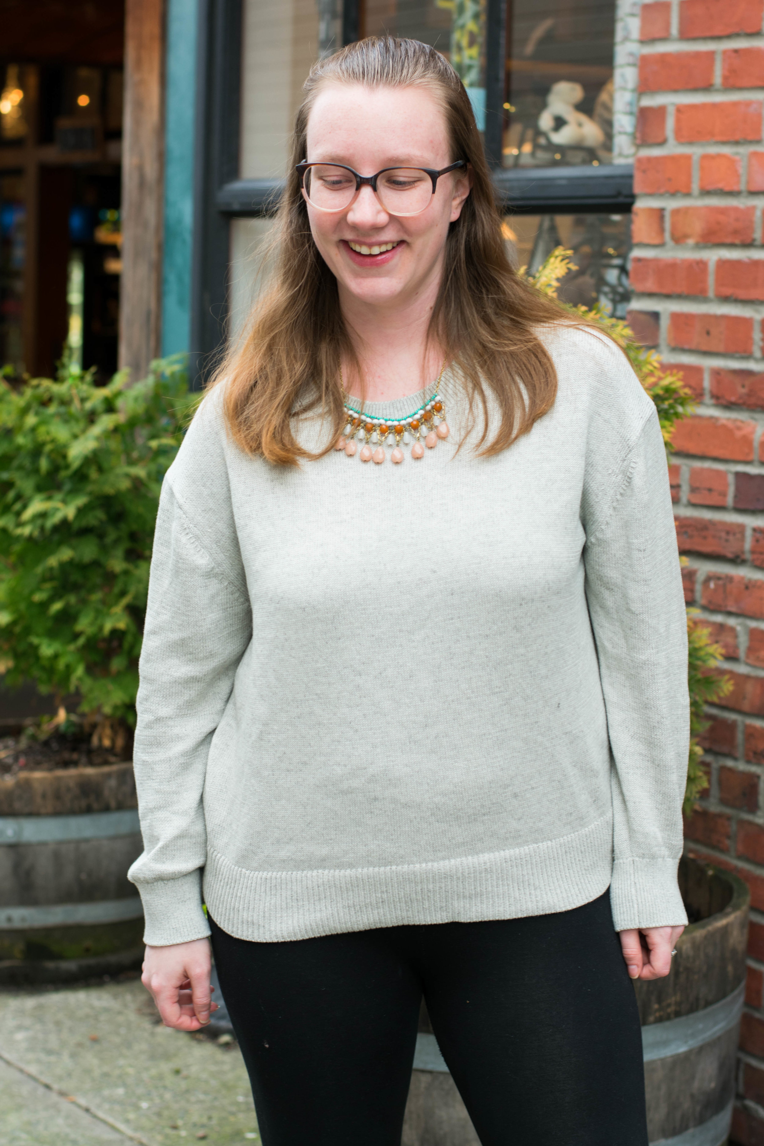 Everlane's Cotton Long Sleeve Crew Sweater
